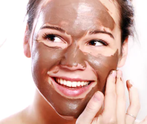 chocolate coffee face mask for Energizes Skin