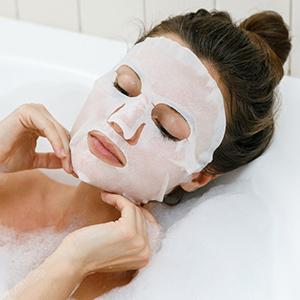 Retinol Bamboo Sheet Mask for Brightens Dull Skin