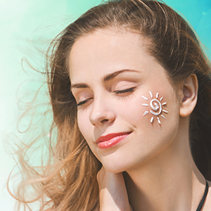 gel based sunscreen for Protects Against UVA & B Rays