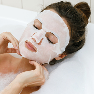 Niacinamide Bamboo Sheet Mask for Reduces Acne Marks