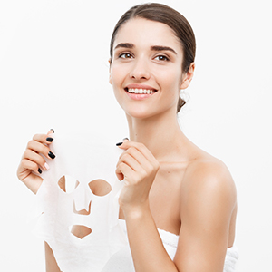 Niacinamide Bamboo Sheet Mask  for Reduces Enlarged Pores